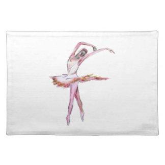 Ballerina , ballet dance art gifts, cards,t shirts cloth placemat