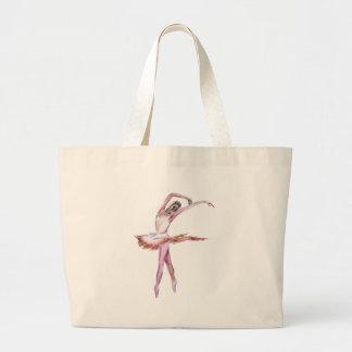 Ballerina , ballet dance art gifts, cards,t shirts jumbo tote bag