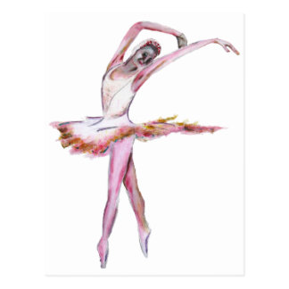 Ballerina , ballet dance art gifts, cards,t shirts postcard