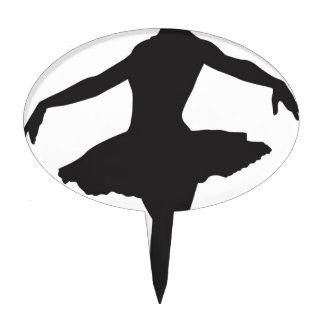 Ballerina - Ballet Dancer Cake Pick