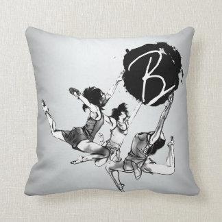 Ballerina Ballet dancing Throw Pillows