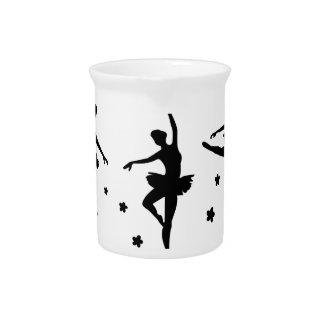 Ballerina Beverage Pitcher