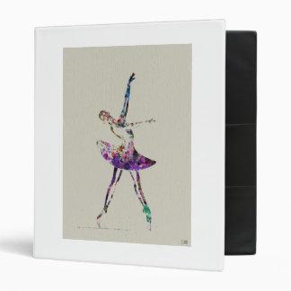 Ballerina Binder