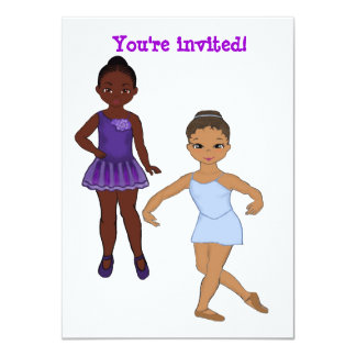 Ballerina Birthday Bash Invitations