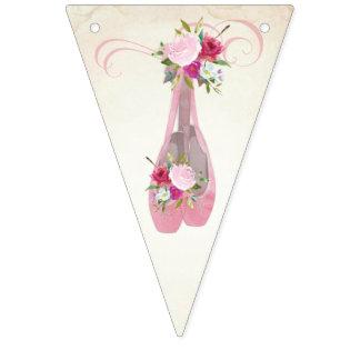Ballerina Birthday Bunting Flags