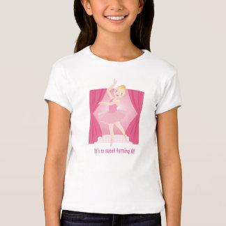 Ballerina birthday girl T-Shirt
