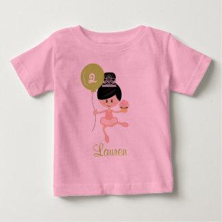 Ballerina Birthday Shirt Asian