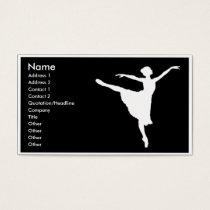 ballerina Business card