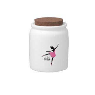 Ballerina Candy Jar