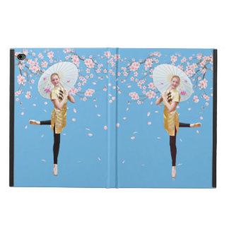 Ballerina, Cherry Blossoms, Customizable Monogram Powis iPad Air 2 Case