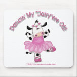 Ballerina Cow Mouse Pad