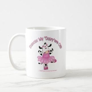 Ballerina Cow Mugs