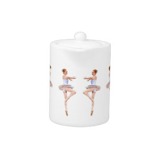 Ballerina Customizable Teapot