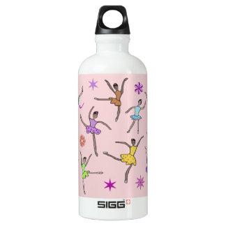 Ballerina Dance Aluminum Water Bottle