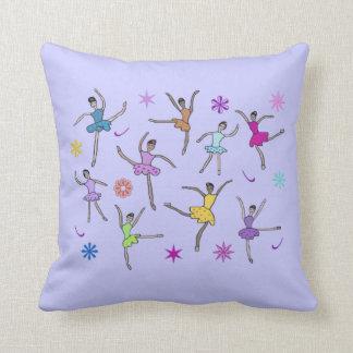 Ballerina Dance American Mojo Pillow