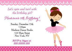 dance party invitations zazzle