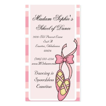 ballerina,dance,business card,cute,pink,sweet,fun