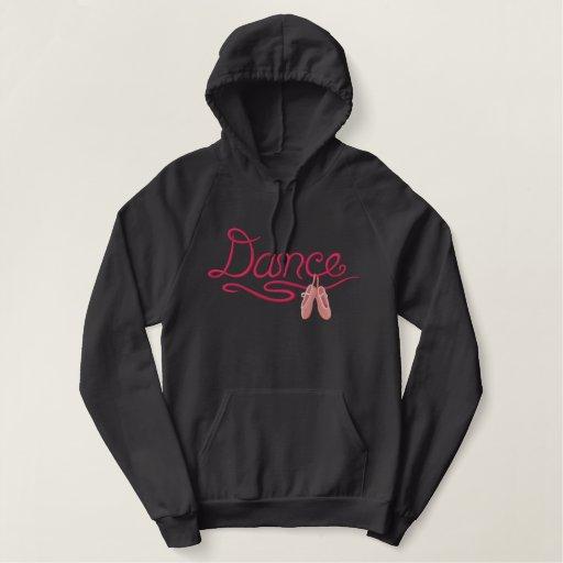 Ballerina  - Dance Embroidered Hoodie