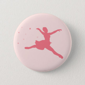 Ballerina dancer button