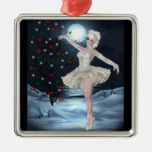 Ballerina Dancer Girl Fantasy Christmas Ornament