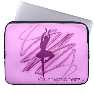 Ballerina dancer laptop sleeves