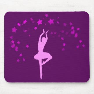 Ballerina dancer mouse pad