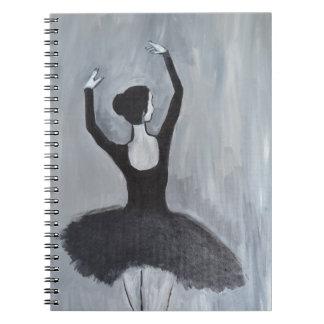 BALLERINA DANCER NOTEBOOK