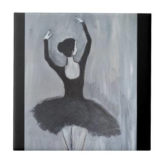 BALLERINA DANCER CERAMIC TILE