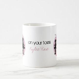 Ballerina Dancers Classic White Coffee Mug
