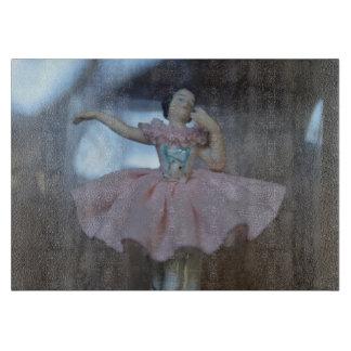 Ballerina Decorative Glass Cutting Board