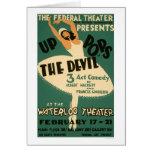 Ballerina & Devil 1938 WPA Card