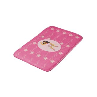 Ballerina Girls Bath Mats
