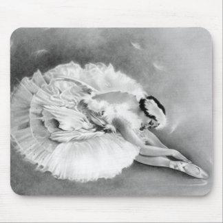 Ballerina Dying Swan Mousepad
