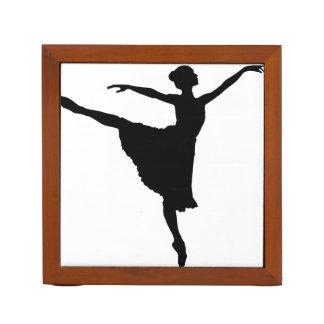 BALLERINA En Pointe (Ballet Dancer silhouette) ~ Pencil/Pen Holder