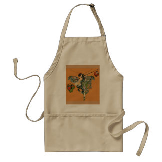 Ballerina Faerie With Lanterns Adult Apron