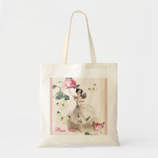Ballerina Fairy Budget Tote Bag
