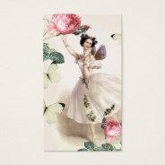 Ballerina Fairy Business Card at Zazzle