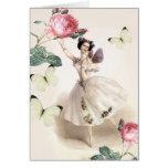 Ballerina Fairy Card