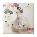Ballerina Fairy Ceramic Tiles