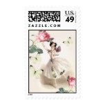 Ballerina Fairy Postage Stamps