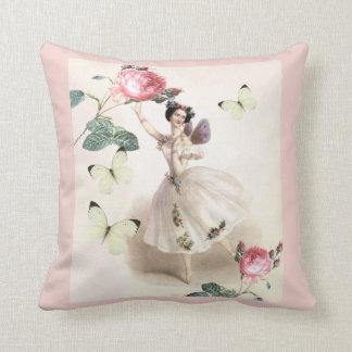 Ballerina Fairy Throw Pillow