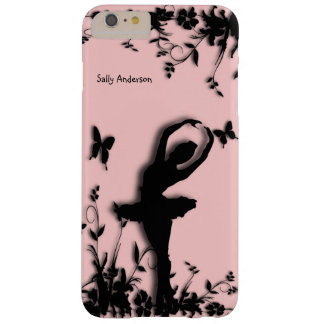 Ballerina Garden Pink Personal Barely There iPhone 6 Plus Case