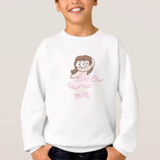 ballerina geek kiddie sweater