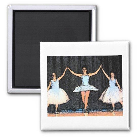 Ballerina Gifts Magnet