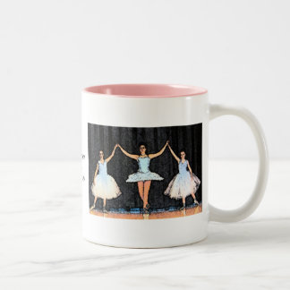 Ballerina Gifts Two-Tone Coffee Mug