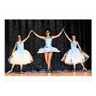 Ballerina Gifts Postcard