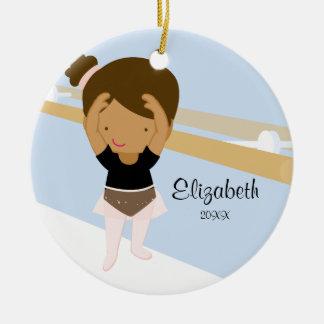 Ballerina Girl Ballet Dance Christmas Ornament