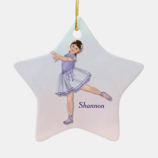 Ballerina Girl Pastel Ornament