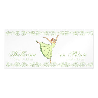 "Ballerina Grace 4""x9"" Magnetic Card"