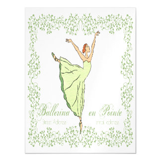 Ballerina Grace Postcard